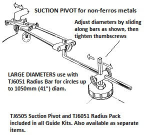 Plasma Cutting Guide Kit – CP1001A to CP2004V